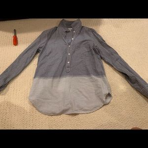Jcrew Plaid fitted shirt, size 6
